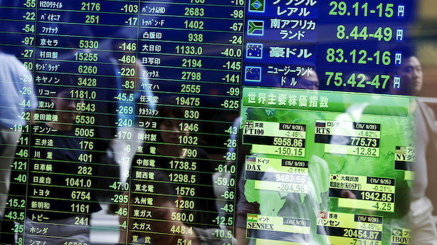 Aktier: Spredte markeder med valuta-modvind i Tokyo