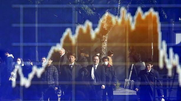 Aktier: Blandede markeder i Asien efter Moody's kina-justering