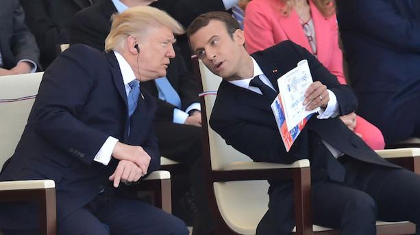 Macron: Trump kan skifte mening om klimaaftale