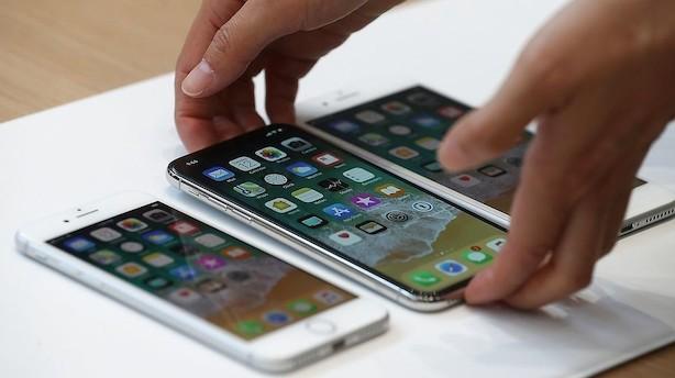 Ny iPhone bruger dit ansigt som adgangskode