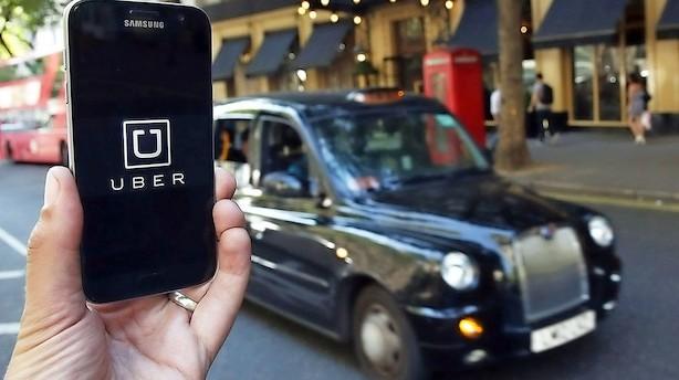 Uber bliver smidt ud af London