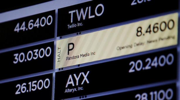 Hedgefond hæver indsatsen på kursfald til Pandora