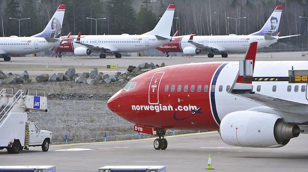 Kaos i Amsterdam-Schiphol efter it-nedbrud - Norwegian fly udsat