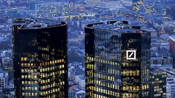 Deutsche Bank nedskriver stort efter ny amerikansk skattepakke