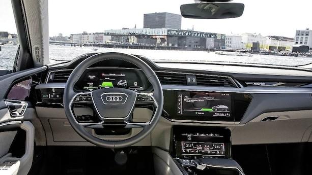 Audis nye elbil er i København