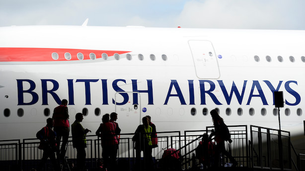 British Airways risikerer milliardbøde efter datatyveri