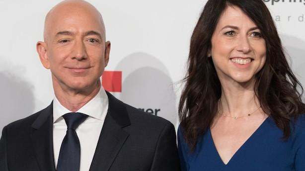 Bezos-skilsmisse kan få stor betydning for aktionærer i Amazon