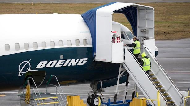 Medie: Børsmyndigheder undersøger Boeing efter flystyrt