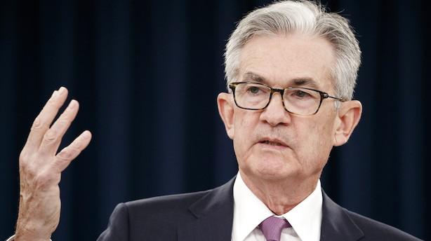 Fest eller fuser? Jobrapport fra USA kan presse Powell til dobbelt rentedyk