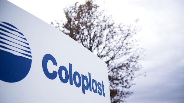 Markedet lukker: Coloplast gik forrest i stærk dansk aktiehandel