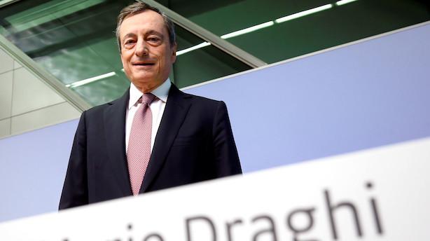 """""""Mario Draghi har lige givet en snaps hele vejen rundt i Europa"""""""