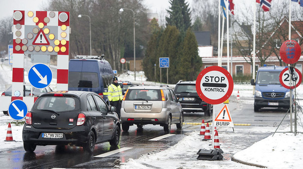 Grænsekontrollen forlænges frem til 4. marts