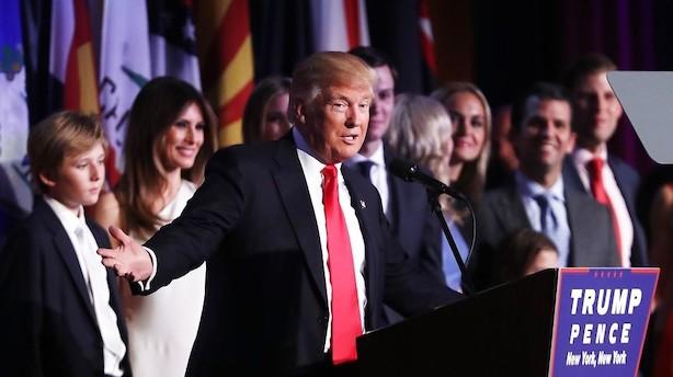 Kurrild: Trump sejrer og Republikanernes styrke er komplet