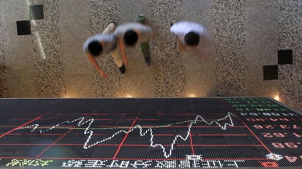 Aktier: Svage data opvejer positive handels-indikatorer i Asien