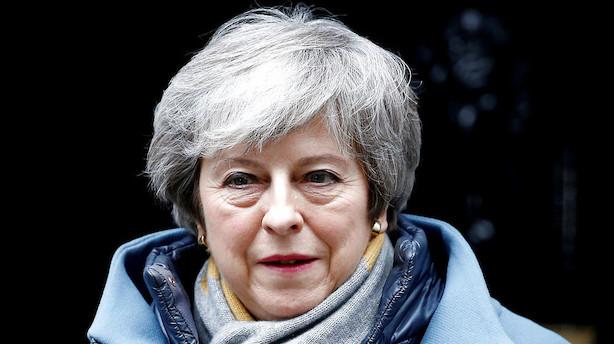 Talsmand for May: Vil bede EU om at udskyde brexit
