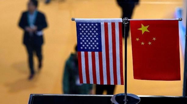 Kina og USA fortsætter handelssamtaler fredag morgen
