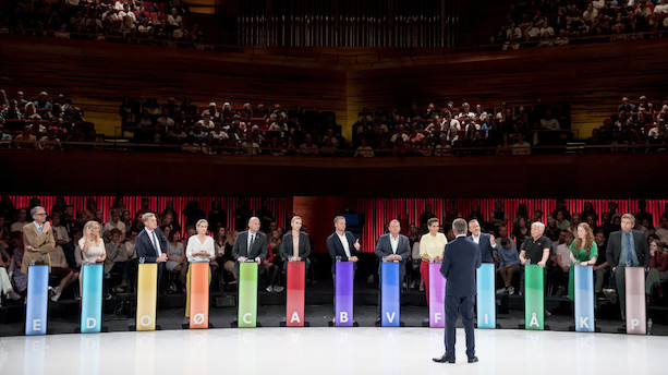 Sidste måling: Flere partier balancerer på spærregrænsen