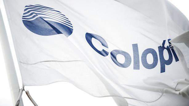 Coloplast: Bestyrelsesmedlem sælger aktier for 2 mio kr