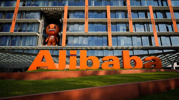 Medie: Kinesiske Alibaba klar til børsnotering på 15 mia dollar i Hongkong
