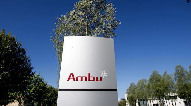 Efter formand-exit og skuffende overskudsprognose: Ambu-aktien i voldsom stigning efter brat nedtur