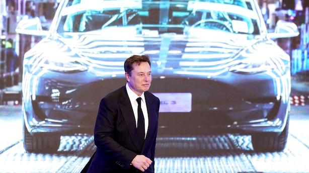 Tesla vil udstede for 2 mia dollar aktier og falder i formarked