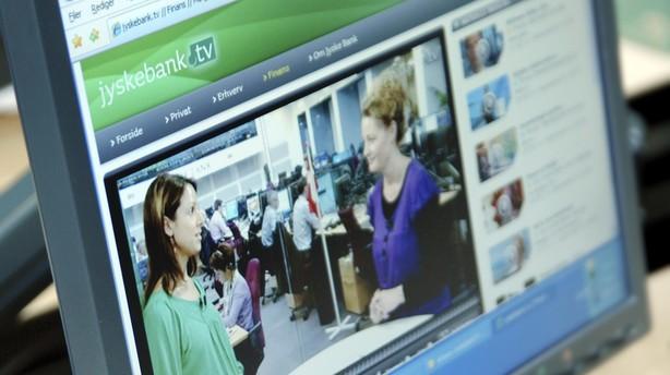 Jyske Bank melder om overskud på 3,2 mia før skat