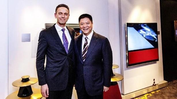 Kinesisk selskab afviser B&O-interesse: Rigmand handler helt på egen hånd