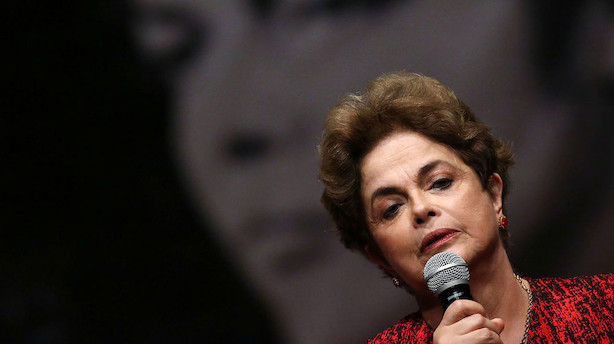 Presset præsident møder sin skæbne foran Brasiliens senat