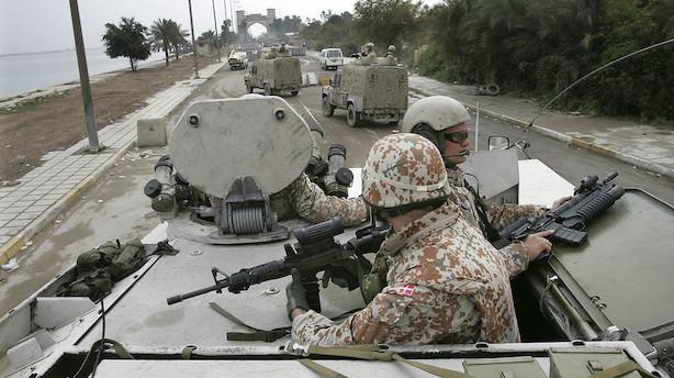 Efter besøg i Irak vil flertal polstre det danske forsvar