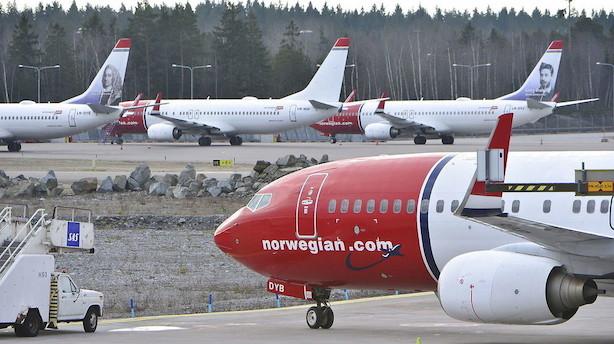 Der var 6000 forsinkede Norwegian-fly i juli