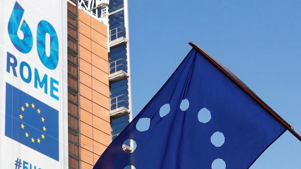 Eurozonen: BNP voksede som ventet i tredje kvartal