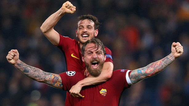 Roma-aktie stiger med over 20 pct. efter sejr over Barcelona