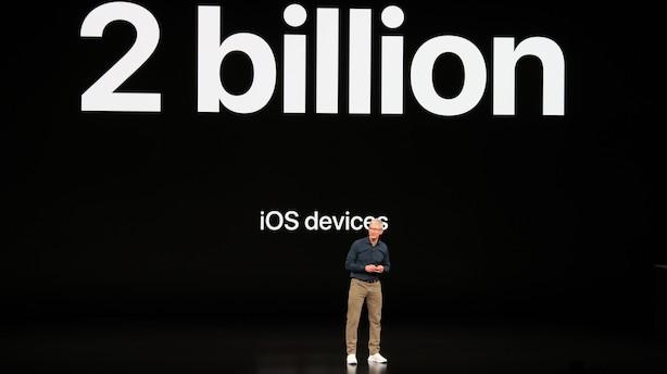 Så er Apples årlige præsentation i gang: Et nyt ur kan overvåge dit hjerte