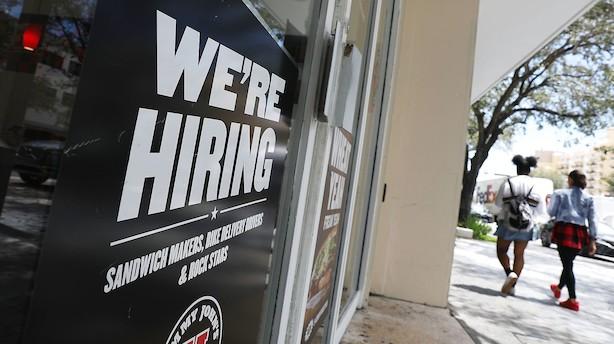 Kongetal: USAs økonomi i storform - jobvækst 96 måneder i træk