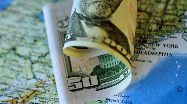 Valuta: Dollar-retning afhængig af økonomiske data