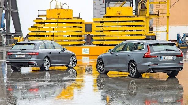 Stationcars fra Audi og Volvo med appel til øjet
