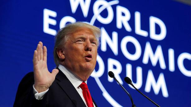 Trump kommer til Davos - Iran aflyser