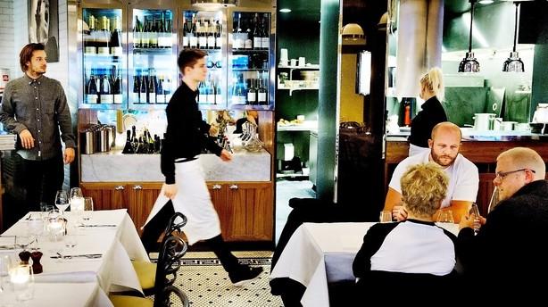 Spis frølår på Café Victors friske søn