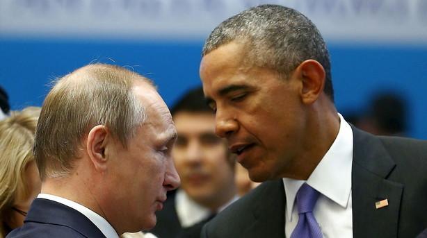 Obama og Putin aftaler Syrien-samarbejde over telefon