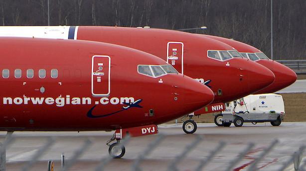 Norwegians passagertrafik steg 23 pct. i juli