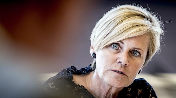 Mette Bock bliver som minister under EU-valgkamp