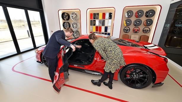 Nyt Ferrari- og Maserati-bilhus vil kombinere dansk og italiensk bilkultur