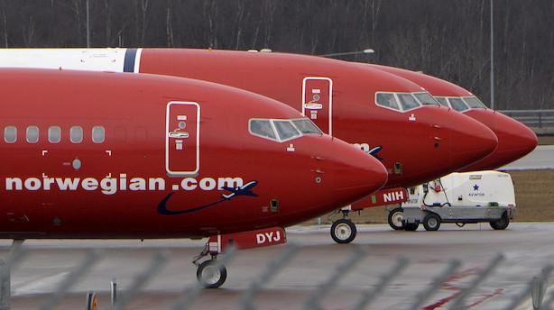 Norwegian belønnes på børsen efter salg af aktiebeholdning