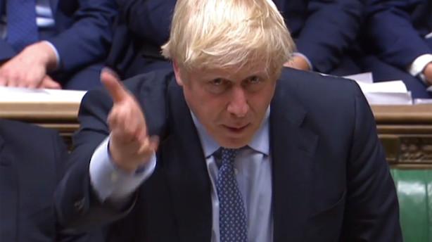 "Boris Johnson holder fast i nyvalg - ""Corbyns afvisning er fej"""