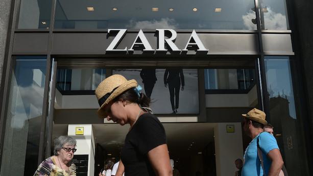 Zara-ejer sendes til bunds i Europa efter forudsigeligt regnskab