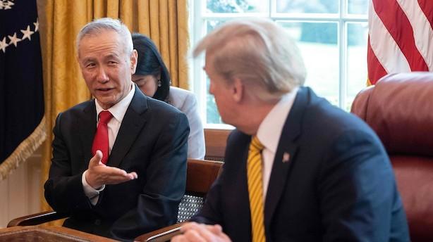 USA og Kina tager hul på forhandlinger forud for topmøde