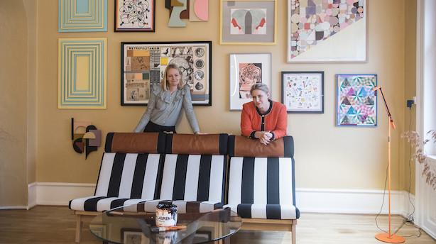 Kunstsalonen der inviterer ind i privaten