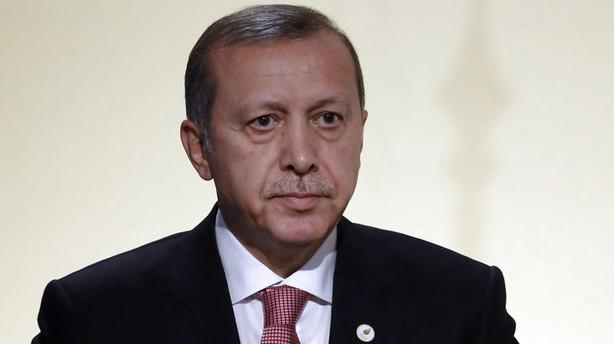 Erdogan: Syrisk selvmordsbomber menes at stå bag bombe