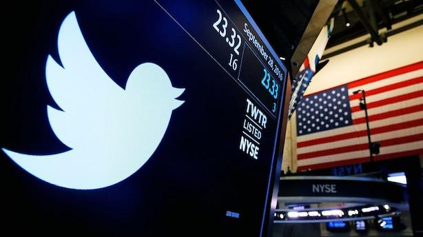 USA: Twitter dykker i negativ åbning