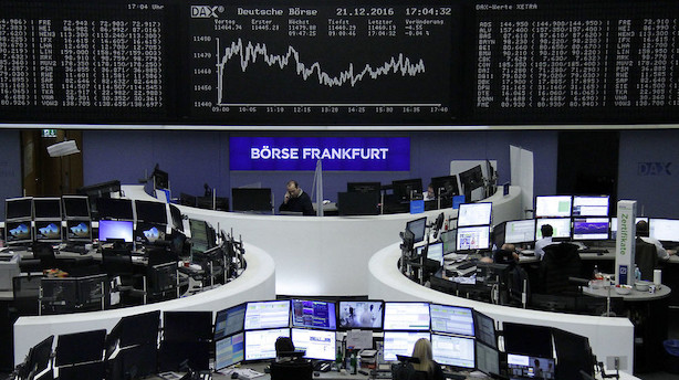 Europa: Medicinalaktier klarer sig ringest i rødt marked